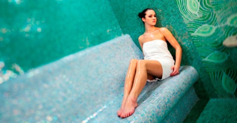 wellness / mentolová sauna